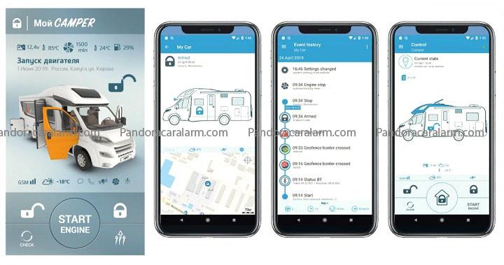 Pandora Camper Pro - price $0 International Alarm Systems and ...