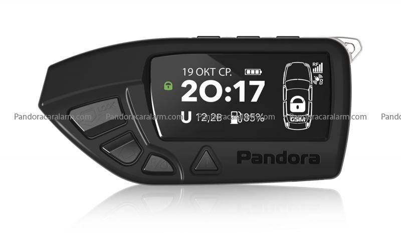 Pandora D-650 remote for Pandora DXL 3970 pro v2